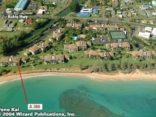 Pono Kai Resort 2BR 2BA Sleeps 6 - Kapaa vacation rentals