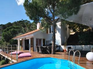 Full view on huge wooden deck in Lloret de Mar (Barcelona) - Lloret de Mar vacation rentals