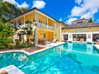 Charming two-story Jamoon in Sandy Lane Estate with pool, media room & staff - Sandy Lane vacation rentals