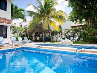 Casa Topaz-tropical garden & 2-level swimming pool - Cozumel vacation rentals