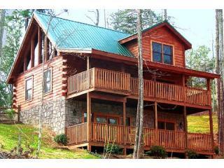 #1 Voted Log Cabin *Book NOW for 2010* - Gatlinburg vacation rentals