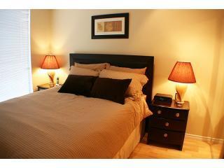 Bedroom1 - 1BR-Yaletown: Solarium,Deck, pool,sauna,Jacuzzi 4 - Vancouver - rentals