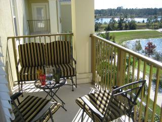 Our condo balcony with lake view - Special Offer Lakeview condo Disney/Universal/OCCC - Orlando - rentals