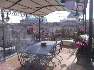 Main terrace 3 - Domes Terrace Apartment in the center of Rome - Rome - rentals