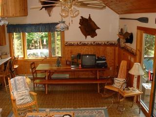 Dining Room adks_vacations_4th_lake - Deluxe Adirondack Cabin on 4th Lake..Pets Welcome! - Old Forge - rentals