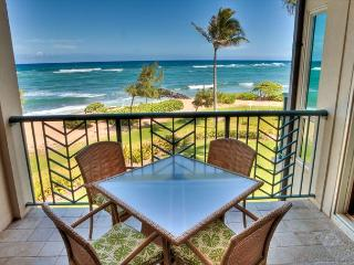A304** BEACH FRONT** A304 WOW Location x3 & FAST Wifi***** - Kapaa vacation rentals