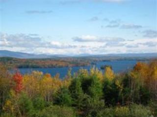 Autum lake view from Cedar Lodge - Sun Valley Cottages NH Condominium at Cedar Lodge - Laconia - rentals