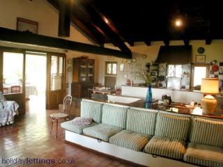 "Living room first floor - Country house in the hills around Asolo""La Rovaia"" - Monfumo - rentals"