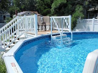 Tiki Hut - Pool-Fenced-dog friendly-Booking 2016 - Cape May vacation rentals