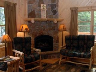 Evergreen Cabin - Deluxe, Fireplace, Whirlpool Tub - Ely vacation rentals