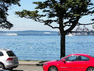 Alki Beach- Majestic views sound, mnts & shipping - Seattle vacation rentals