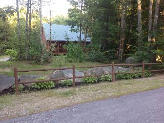 Newer Log Cabin, Three Wooded Acres in the Country - Lakes Region vacation rentals