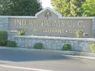Main entrance to gated community - 2 bd condo 1 bth Indian Palms Cty Clb, Indio, Cal - Indio - rentals