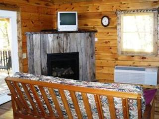 TreeHouse Cabins hot tub with great mountain view - Hot Springs vacation rentals