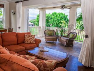 BEST!  LUXURY VILLA , Central A/C, 3 private suites, Pool/spa, stroll to Beaches - Poipu vacation rentals