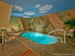 Private Indoor Pool Cabin - Sleeps 4 - Gatlinburg vacation rentals