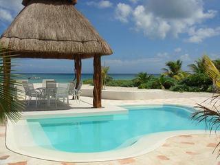 Beachfront Lux House in Uaymitun, Progreso w/ pool - Chicxulub vacation rentals