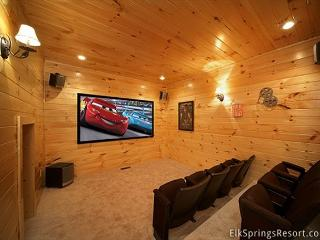 3 Bedroom Theater Room Cabin - close to Downtown - Sevier County vacation rentals