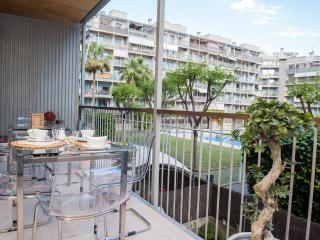 Modern apartment in Poblenou with terrace and pool - Barcelona vacation rentals