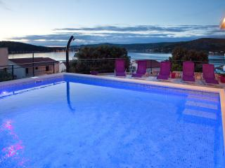 Apartment in villa with private pool  with a large terrace overlooking the sea - Razanj vacation rentals