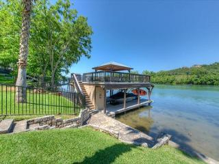 5BR/5BA Lake Austin Estate With Boat Dock and Hot Tub Overlooking the Water! - Buffalo Gap vacation rentals