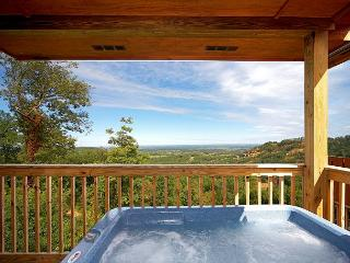 "Spring from $99!!! Log Cabin w/ Hot Tub, Pool Table, 60"" TV, WiFi, & Views. - Sevierville vacation rentals"