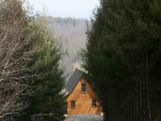 Beautiful views of river and mountains from cabin - Piney Creek vacation rentals