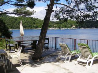 House in Sobra, just on the sea.. - Mljet vacation rentals