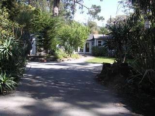 Enter the front gate - Asilomar Ocean Retreat - Monterey - rentals