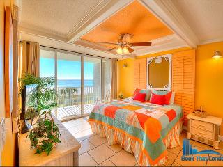 Long Beach 102-3. Gulf Front. Prime Location! Gorgeous 1 Bed, 1 Bath Condo. - Florida Panhandle vacation rentals