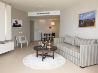 Royal Sea Hotel and Suites  - Beautiful 1 Bedroom Deluxe Suite with Sea Views - RN01 - Netanya vacation rentals