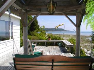 Very Private Lake Michigan Cottage - Moran vacation rentals