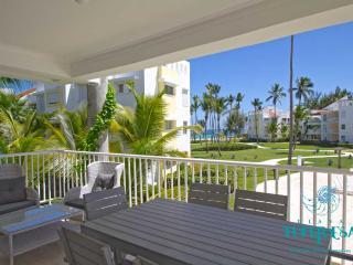 PLAYA TURQUESA E-202 - 3 br + maid room ocean view - Punta Cana vacation rentals