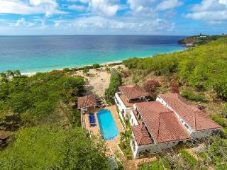 Beachfront Joie de Vivre on 4.4 acres on 3 levels, panoramic views, pool & amazing staff - Baie Rouge vacation rentals