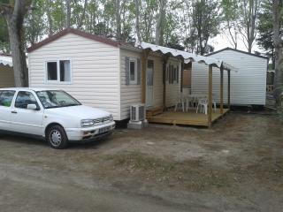 Mobilhome  4/6p Grau du Roi camping EDEN 5* - Le Grau Du Roi vacation rentals