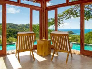 Eco-friendly Villa Seis with wraparound infinity edge plunge pool and ocean views - La Fortuna de Bagaces vacation rentals