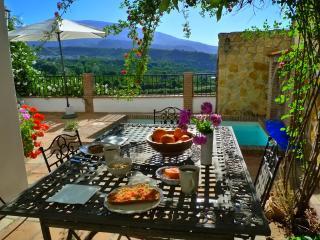 Casa Tagomago, views, secluded patio, small pool - Lecrin Valley vacation rentals