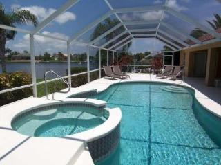 Villa Rose - 3b/2.5ba SW Cape Coral Home, Electric Heated Pool/Spa, Gulf Access Canal, HS Internet, - Cape Coral vacation rentals
