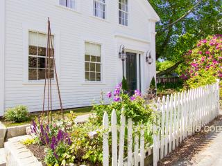 NORDE - Gracious Greek Revival, Newly Renovated with Gorgeous Decor, In Town Location, Short Walk from Ferry, Private Patio - Vineyard Haven vacation rentals