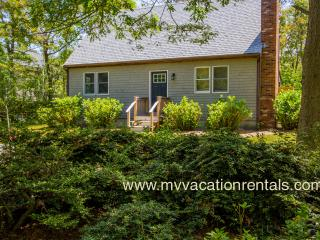 LECAY - Boutique Sweet with Designer Interior,  Large Screened Porch, AC all Bedrooms, 15 Minute Walk to Oak Bluffs Center and Inkwell Beach - Oak Bluffs vacation rentals