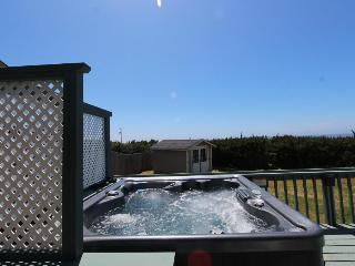 Dog-friendly cottage with beach views, private hot tub, shared pool - Waldport vacation rentals