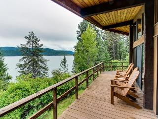 Private dock, views of Coeur d'Alene at this lakefront cabin - Harrison vacation rentals