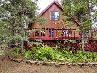 A peaceful, rustic cabin with a tree-lined deck, yard, and outdoor firepit! - McCall vacation rentals