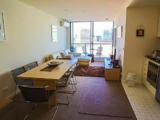 Modern city apartment with bay and Botanical views - Melbourne vacation rentals