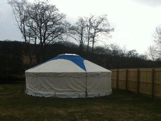 Riverside Yurt - Contin vacation rentals