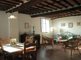 Lovely 2 bedroom Tuscan cottage in the countryside with great views and pool access - Matraia vacation rentals