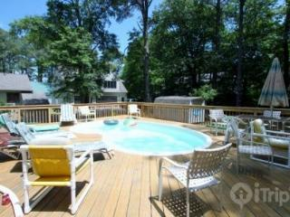 Quiet 4 BR with Prvt Pool, 4 Blocks from the Beach, Huge Open & Enc. Decks, Opt Linens & Bath Towels - Millsboro vacation rentals