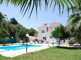 SUN villa 5 bedrm - Fantastic Views. Free Air Con - Agios Georgios vacation rentals