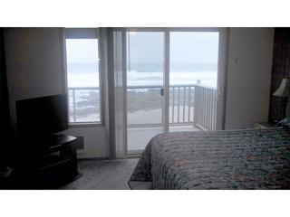 View out the condo - Quarterdeck-Studio w/ Fireplace,Oceanview,Balcony - Lincoln City - rentals