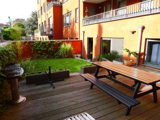 City centre - garden+terrace - Brussels vacation rentals